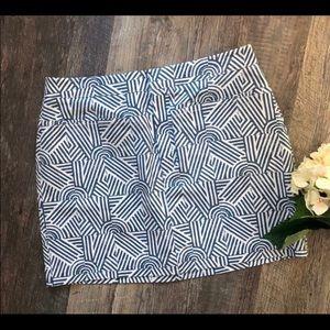 KATE SPADE SATURDAY-  Block Print Skirt- Size 6